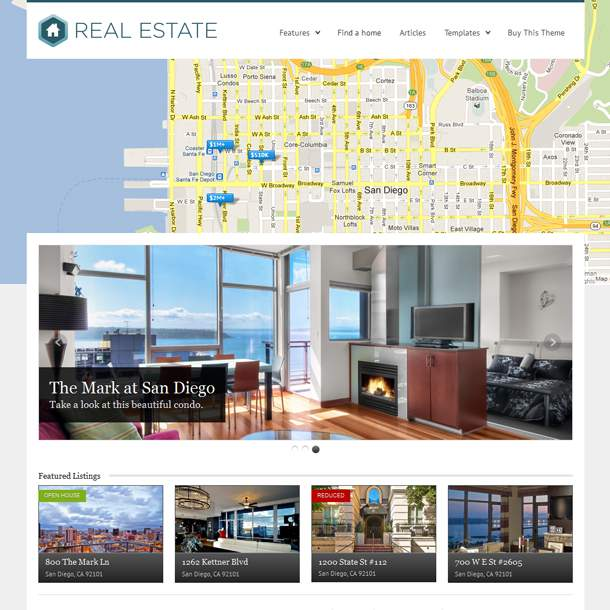 WP Pro Real Estate 3 - theme wordpress immobilier