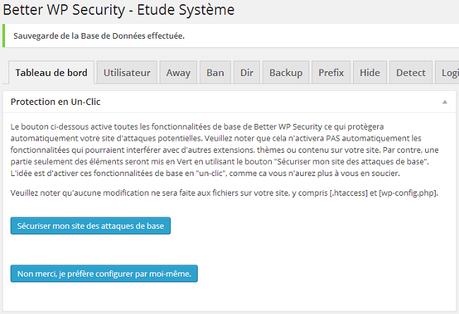 Sécuriser son site WordPress avec Better WP Security