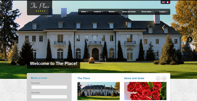 The Place - theme wordpress hotel