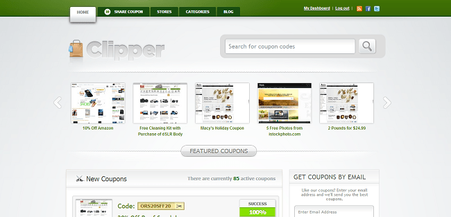 Clipper : Theme WordPress Coupon de Reduction