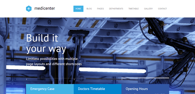 MediCenter : Theme WordPress Medical & Santé