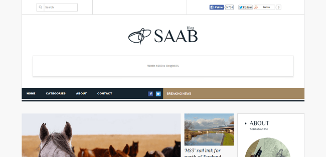 Saab - Theme WordPress Blog & Magazine