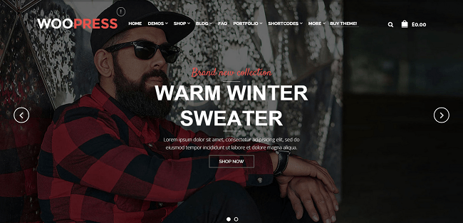 WooPress : Theme WordPress eCommerce