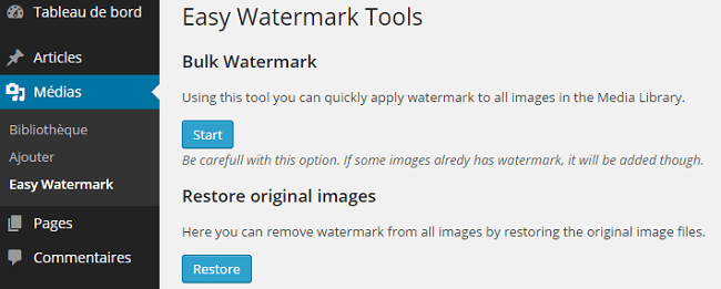 Easy Watermark Tools