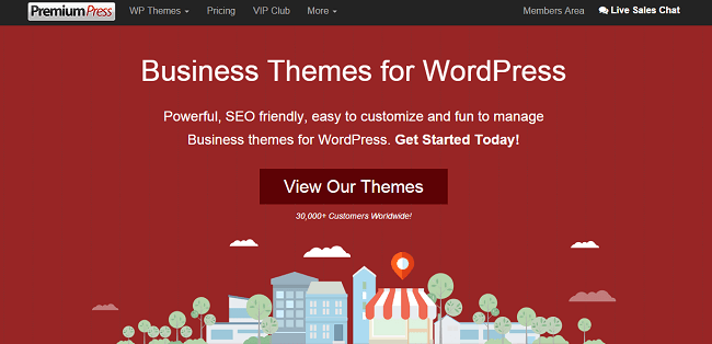 PremiumPress Business WordPress Themes
