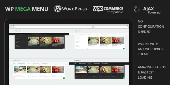 WP Mega Menu - MyThemeShop - Plugin WordPress pour Créer des Mega Menu