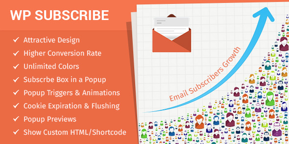 WP Subscribe Pro - WordPress Plugin Popup de Newsletter