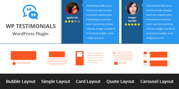 WP Testimonials - MyThemeShop - Plugin WordPress de Témoignages
