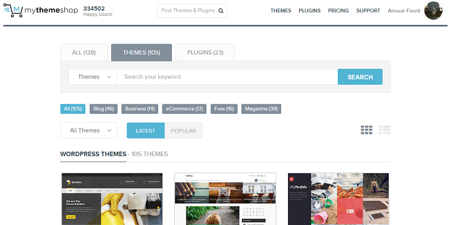 MyThemeShop : Boutique de Thèmes et Plugins WordPress