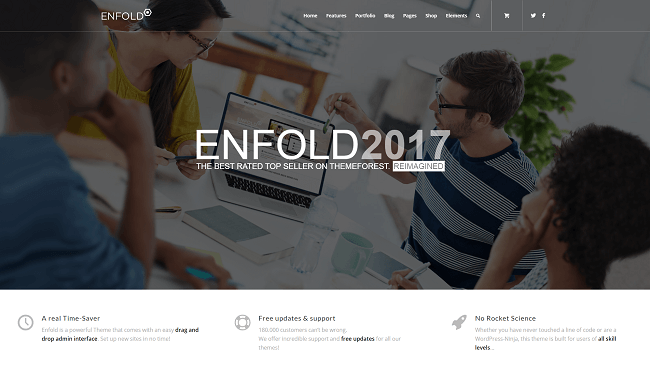 Enfold - theme wordpress responsive