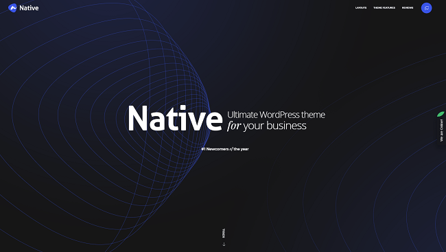 Native - thème ultime pour son business