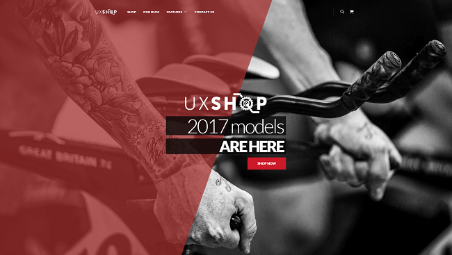 UX Shop - wordpress ecommerce theme