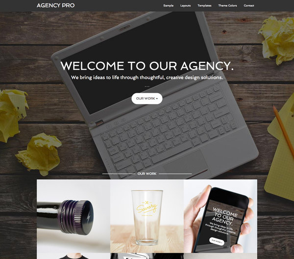 agency pro - theme wordpress