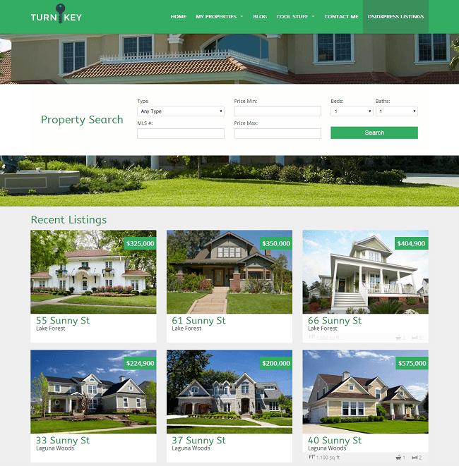Theme WordPress Immobilier pour créer un site d'agence immobilière - Turnkey