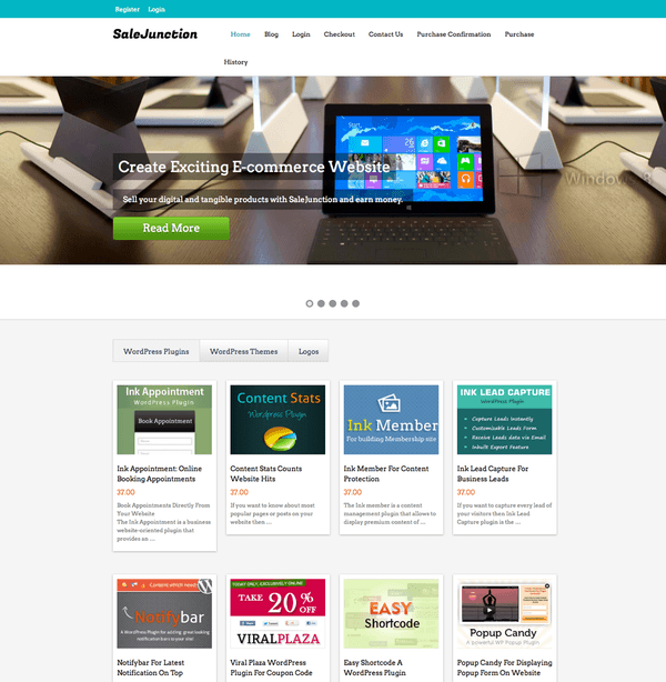 salejunction - theme wordpress