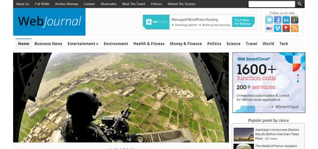 WebJournal pour les sites de journal en ligne