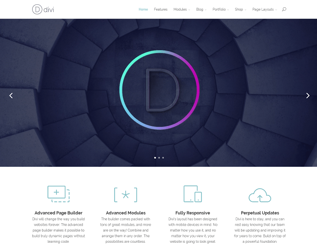 Thème WordPress Business Corporate - Divi