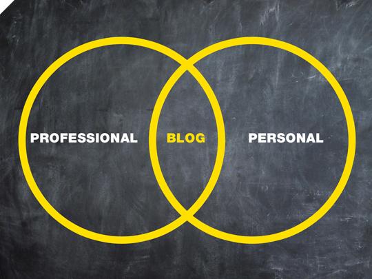 Blog personnel ou professionnel ?