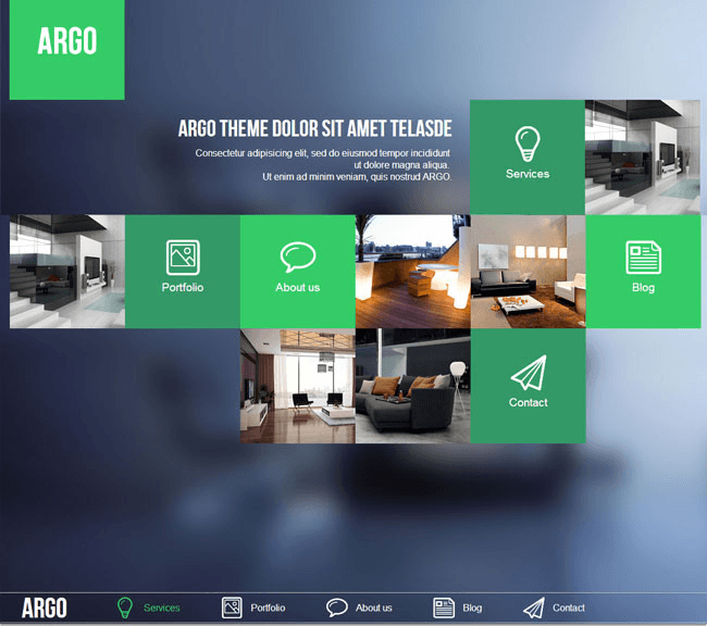 Argo se base sur un design Metro UI