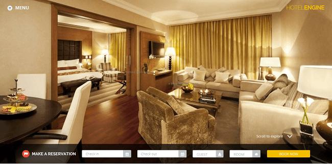 HotelEngine Classy - theme wordpress hotel