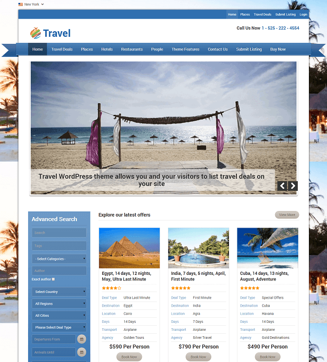 travel-theme-wordpress-voyage