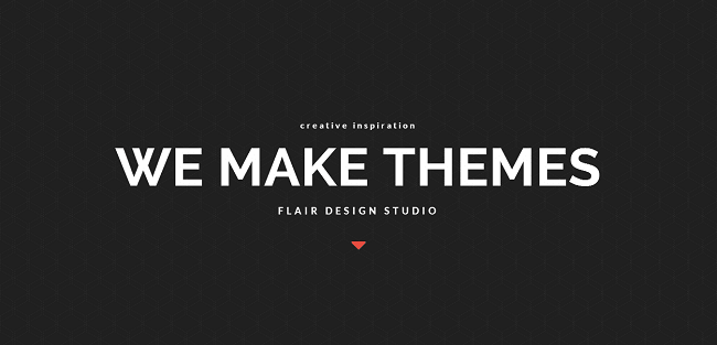 Flair : Theme WordPress Business One Page