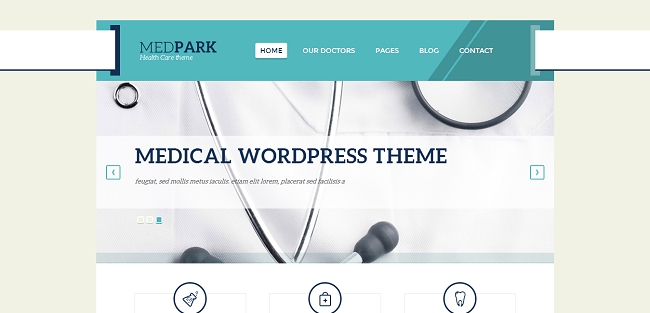 MedPark : Medical WordPress Theme