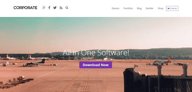 Corporate - Theme WordPress Business et Portfolio