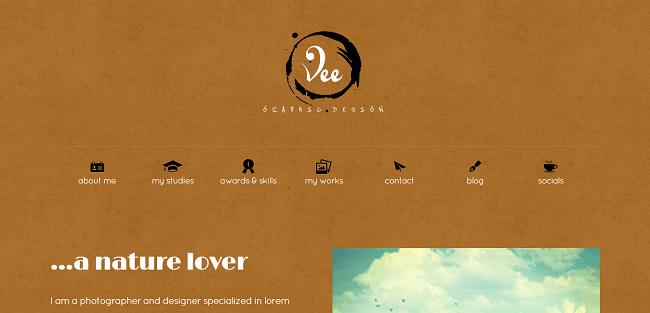 veeCard : Theme WordPress Carte de Visite