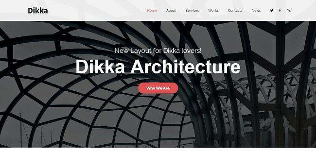 Dikka : Template WordPress Responsive Polyvalent