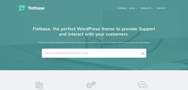 Flatbase : Theme WordPress Wiki FAQ responsive