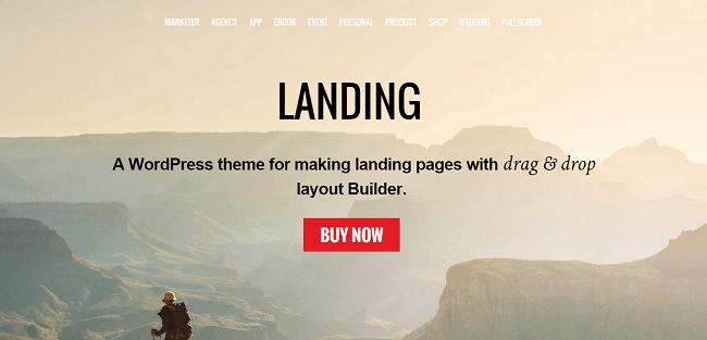Landing - Theme WordPress pour Créer des Landing Pages