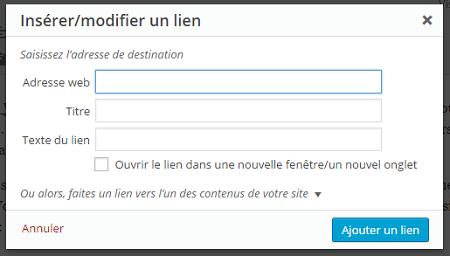 Restaurer Champs Titre dans WordPress 4.2