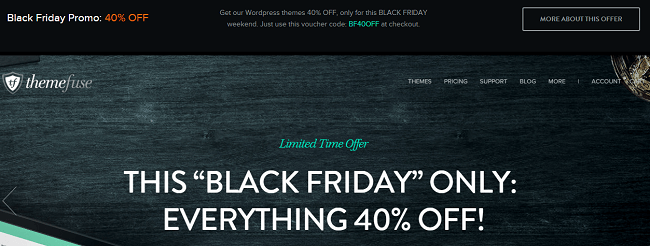 ThemeFuse : Black Friday