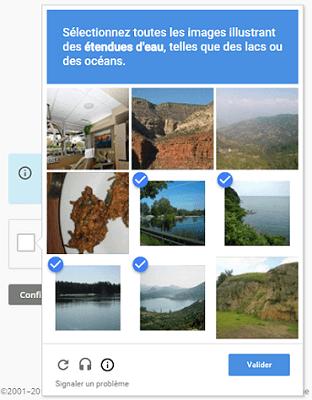 Confirmation de l'inscription à Mailchimp avec un quizz de galerie d'images