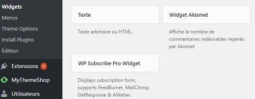 WP Subscribe Pro Widget