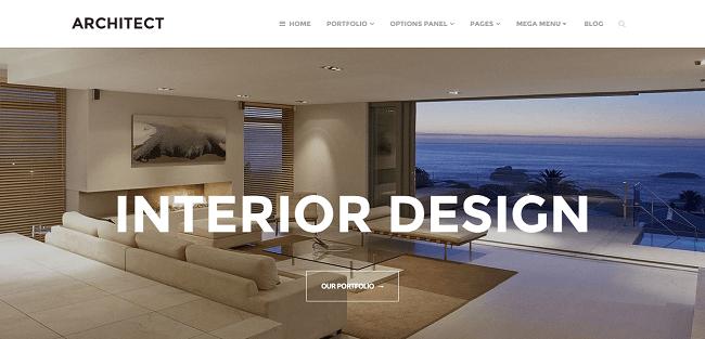 Architect - Theme WordPress pour Agence et site Vitrine