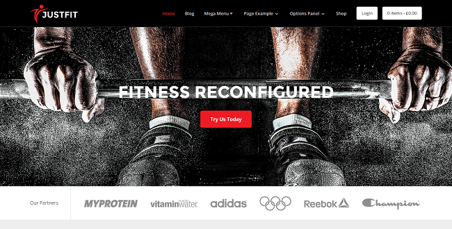 JustFit - Theme WordPress Santé