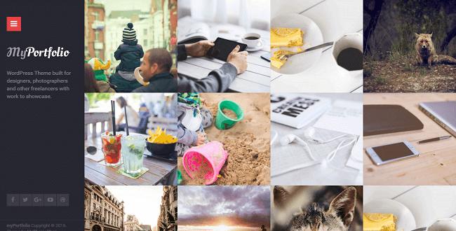 MyPortfolio : Theme WordPress Portfolio
