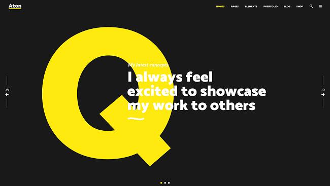 Aton - theme wordpress moderne pour agence et freelance