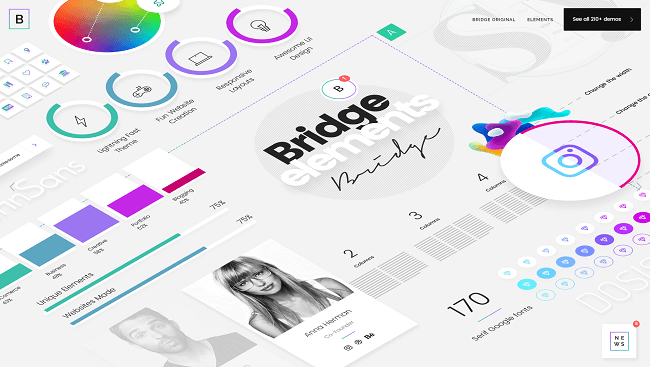 Bridge - best selling creative WordPress theme