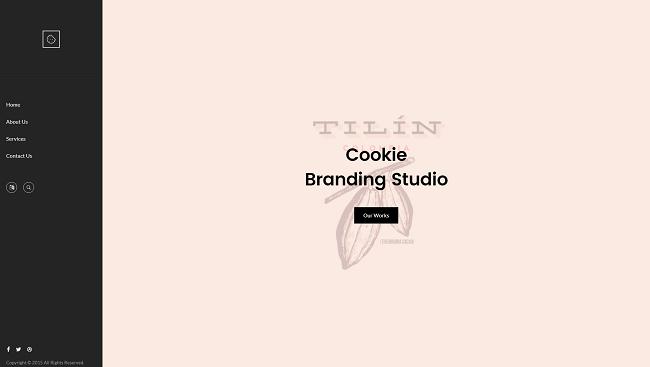 Cookie : un thème wordpress original pour créer son site vitrine