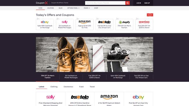 Coupon - Thème WordPress pour Site de coupons