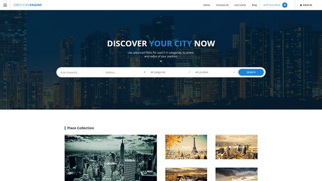 DirectoryEngine - Thème WordPress Annuaire