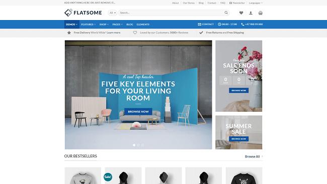 Flatsome - Thème WordPress WooCommerce