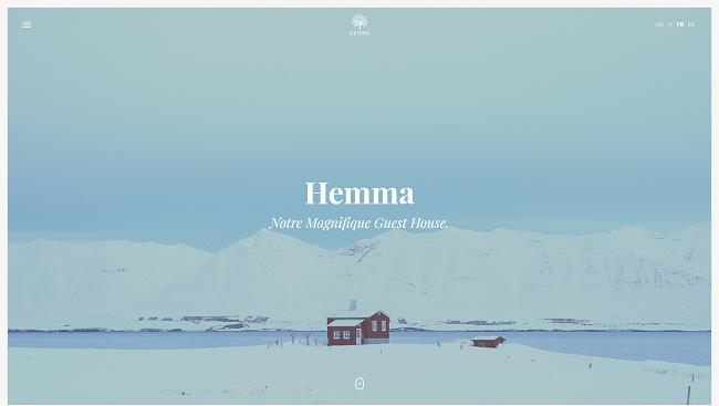 Hemma - Thème wordpress pour maisons de vacance, stations balnéaires, B&B.