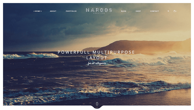 Narcos - Multipurpose WordPress Theme. Par TeslaThemes
