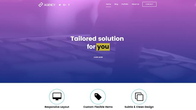 Ultra est un thème wordpress responsive pour les designers et développeurs.