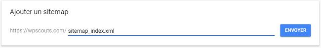 Ajouter Sitemaps sur Google Search Console