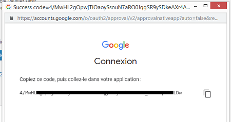 Code d'authentification Google pour Yoast SEO